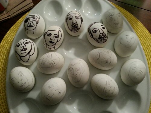 Walking Dead Easter Eggs 1 of 4