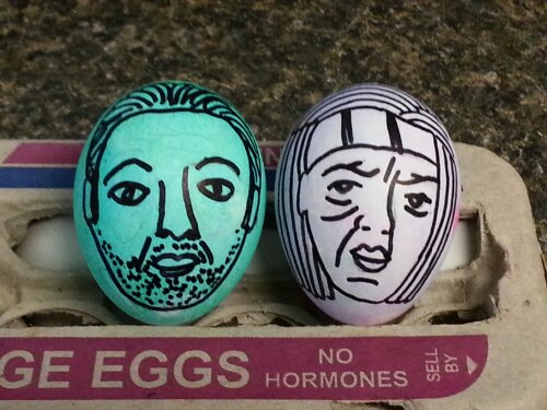 Walking Dead Easter Eggs 4 of 4