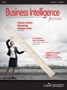 Business Intelligence Journal Volume 22 Number 4